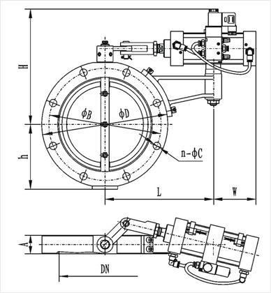 GIQ型系列气动高真空蝶阀结构图.jpg
