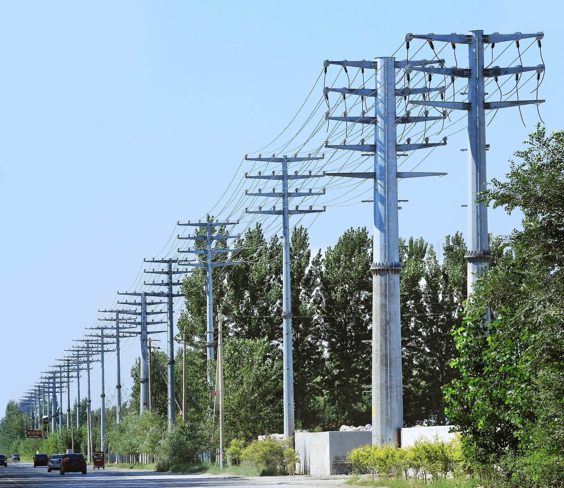 电力钢杆市场永远呈现直线增长