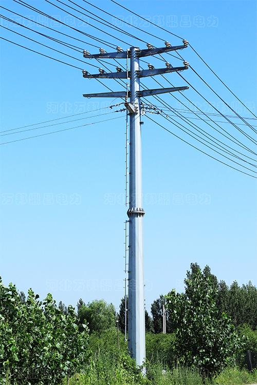 12.5米电力钢杆